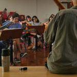 """Taller """"La guitarra acompañante"""". Escuela de música de la UNR."""