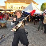 Auch auf Mittelaltermärkten sogen wir für feurige und un-feurige Stimmung