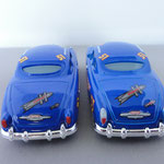 Dirt Track Fabulous Hudson Hornet V1 (L) vs V2 (R)