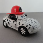 Dalmatian Tia (R) - SDCC box set, rubber tires