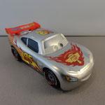 Silver Racers Lightning McQueen