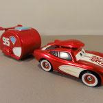 Cruisin Lightning McQueen with Trailer