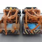 Race Team Mater with Headset V1 (L) vs. V2 (R)