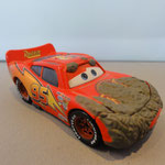 Muddy Lightning McQueen