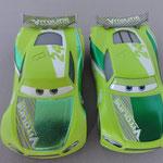 Chase Racelott V1 (L) vs. V2 (R)