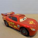 Lightning McQueen Racing Wheels - Metallic