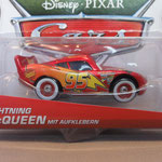 Lightning McQueen with stickers - Metallic (MINT) - German Promo