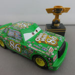 Chick Hicks w/ Piston Cup - Scavenger Hunt rubber tires
