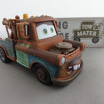 Mater 3287EAA - 62 gr - Plastic engine, two piece cab and cargo bed, flat eyebrow, yellow and light blue colored rear wheels (V3)