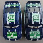 Clutch Aid aka Kevin Shiftright V1 (L) vs. V2 (R)