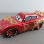 Muddy Rust Eze Racing Center Lightning McQueen