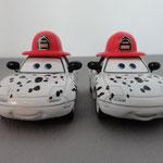 Dalmatian Mia (L)  & Tia (R) - (Box set))