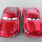 Cruisin McQueen V1 (L) vs. Cruisin McQueen V2 (R)