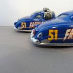 Fabulous Hudson Hornet (front) vs. Pit crew member Fabulous Hudson Hornet (back) - gas tank cap