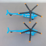 Dinoco Helicopter (B) vs. Dinoco Helicopter DeLuxe (T)