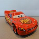 Lightning McQueen - Correct Rust-Eze logo