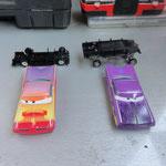 Hydraulic Purple Ramone and RS Ramone dismantled