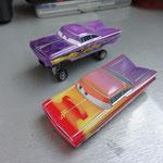 Hydraulic Purple Ramone and RS Ramone