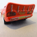 Lightning McQueen with stickers - Rear