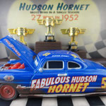 Fabulous Hudson Hornet with Piston Cups