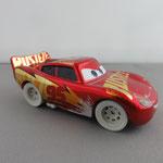 Metallic Rust Eze Racing Center McQueen with sandy tires (5 pack)