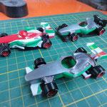 Custom Cars F1 Lvery variations