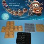 3D Printed Reindeer set from Jack Toyfountain, big thanks.
