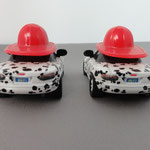 Dalmatian Mia (L) & Tia (R) - SDCC box set, rubber tires