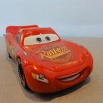 Lightning McQueen - Correct Rust-Eze logo (Playset Mack)
