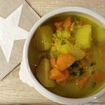 Indische Kartoffel-Linsen-Suppe