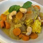 Schmorgurken-Curry
