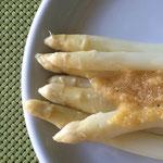 Spargel mit brauner Butter