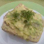 veganes Ei-Brötchen