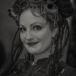 Lady beim Steampunk-Jahrmarkt in Bochum