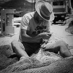 Fischer im Hafen von Port Andratx / Mallorca