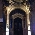 Der festliche Eingang ins Concordia Gebäude