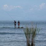Fishermen at Lake Malawi