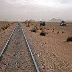 Railway Atar to Nouadhibou