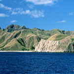 on Way to Comodo Island