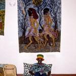 Artist in Kenya