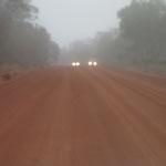 morning mist on Cape York hwy
