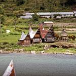 Houses on Sumatra