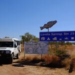 Lorella Springs Signpost