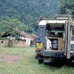 Camp in Uganda