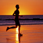 Runner on the Beach in Broome
