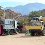 Camp in Tafraoute