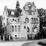 Germanenhaus im Jahr 1956