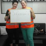 """Die """"Julimamis"""" kämpften sich bei uns sehr tapfer durch ihren ersten Escape Room. Vielen Dank für euren Besuch! :-)"""
