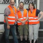 """Das Team """"Germany goes Niederwil"""" zeigte gutes Teamwork in unserem Escape Room. Sie haben schon einige Räume in Deutschland absolviert und wir fühlen uns geehrt, dass ihr auch bei uns Halt gemacht habt. :-) Vielen Dank für euren Besuch!"""