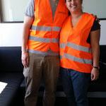 """Heute war das Team """"Iris und Stefan"""" bei uns. Vielen Dank für euren Besuch! :-)"""